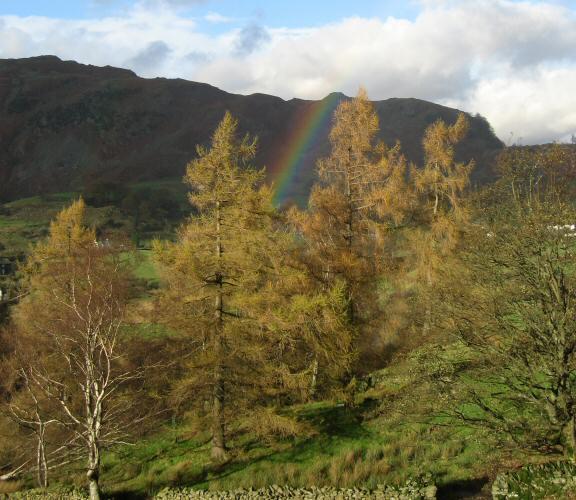 Rainbow in Little Langdale