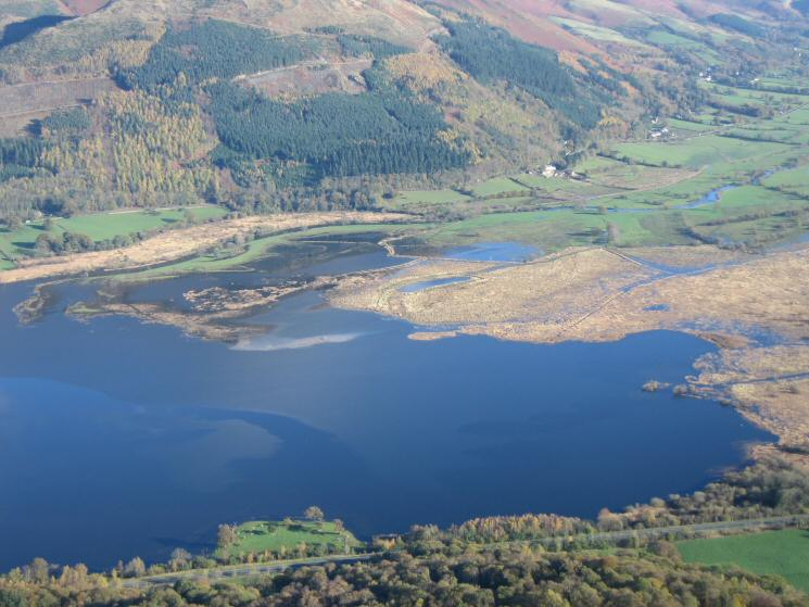 Looking down on the head of Bassenthwaite Lake from Barf's summit