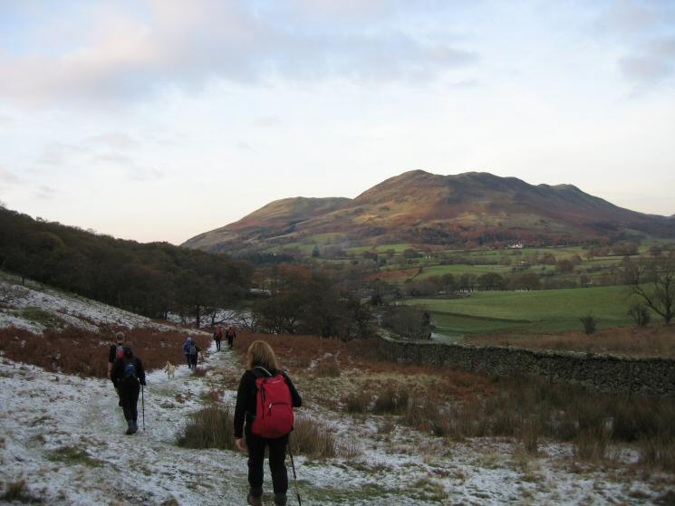 Heading back to Loweswater