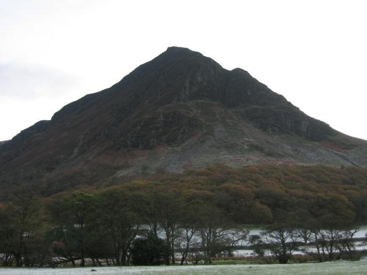 Mellbreak's 'north face'