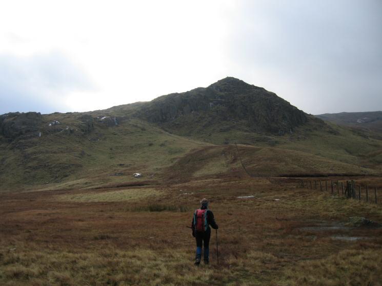Heading towards Standing Crag