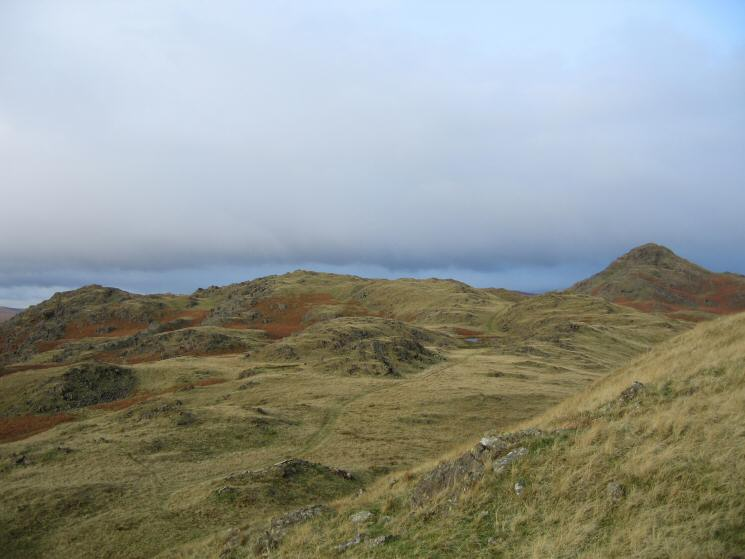 Tarn Hill and Stickle Pike from Great Stickle