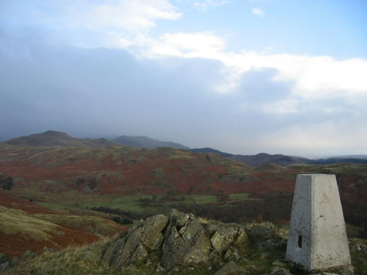 Caw and Walna Scar from Great Stickle's summit