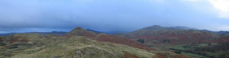Northerly panorama from Great Stickle's summit