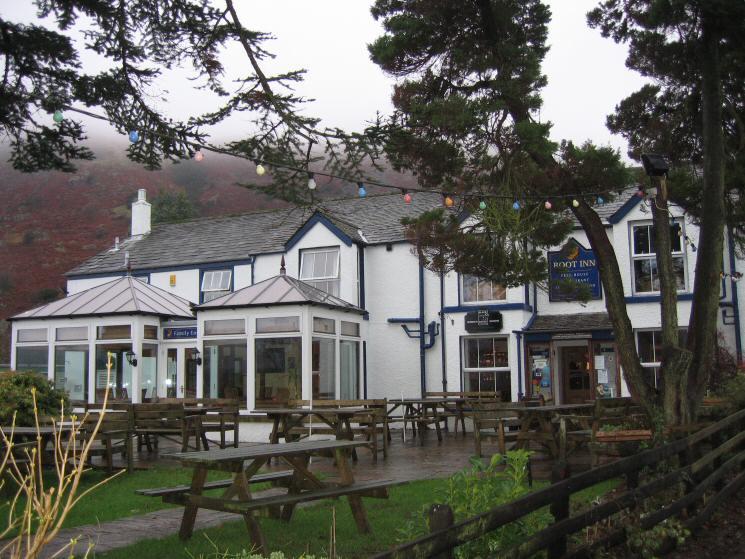 Boot Inn (formerly the Burnmoor Inn) at Boot, Eskdale