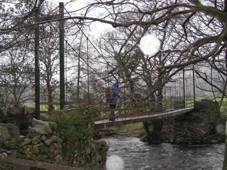 Milkingstead Bridge across the River Esk