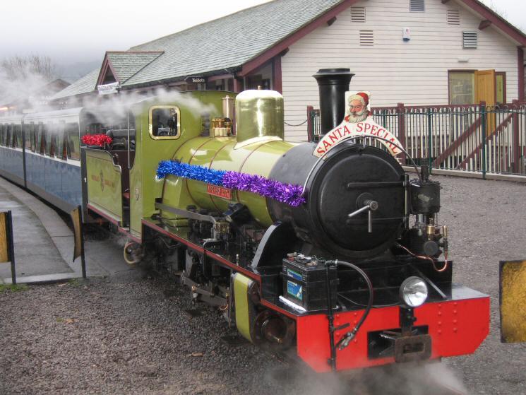 Santa Special at Dalegarth Station