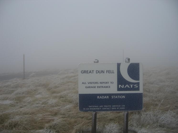 Great Dun Fell summit