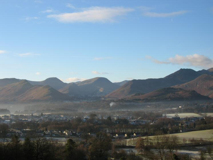 Catbells, Hindscarth, Robinson, Rowling End and Causey Pike