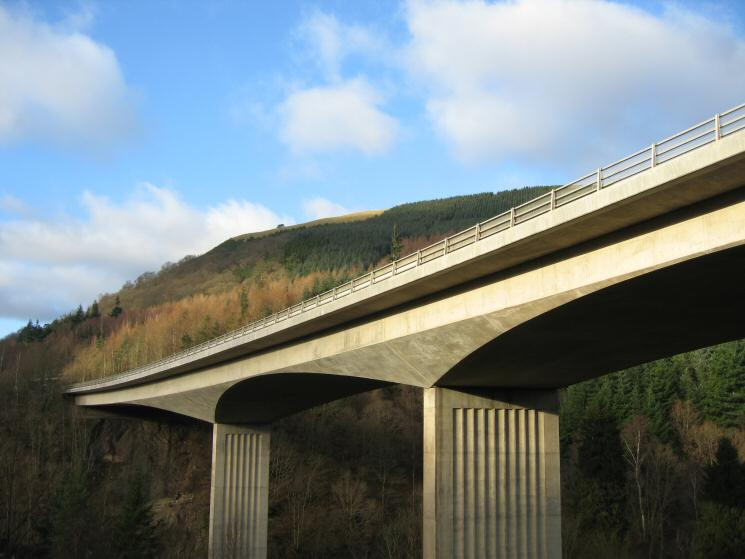 Latrigg from under the bridge