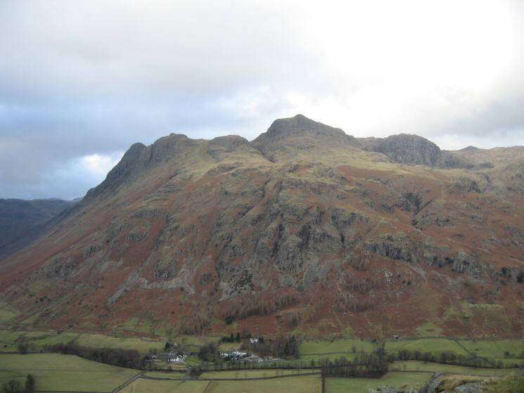 The Old Dungeon Ghyll Hotel (ODG) at the foot of the Langdale Pikes