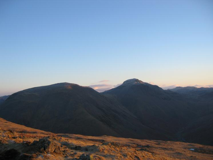 Kirk Fell and Great Gable from Yewbarrow