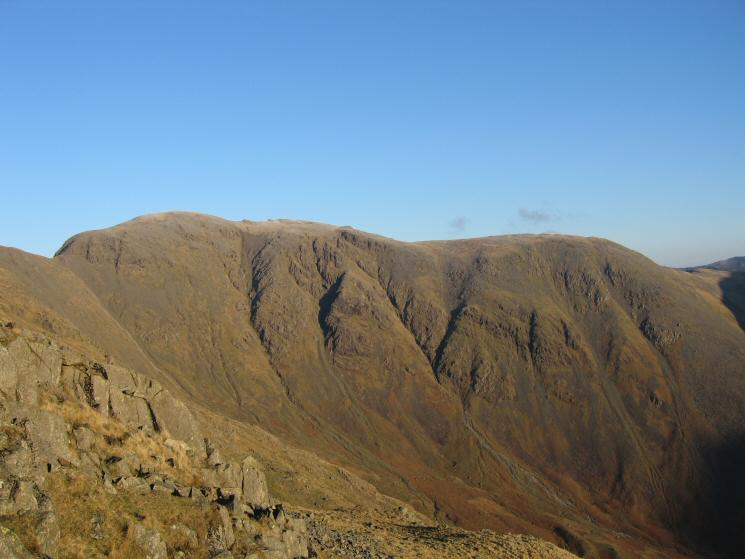 Pillar from our ascent of Red Pike from Dore Head