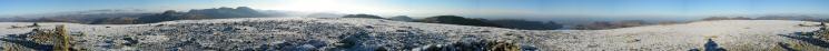 360 Panorama from Pillar's summit
