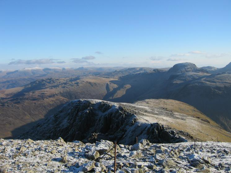 The route off Pillar to Looking Stead and Black Sail Pass