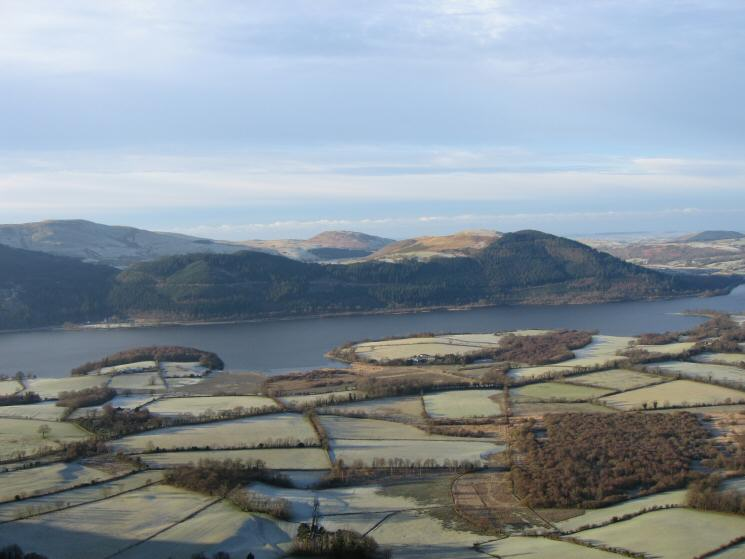Looking across Bassenthwaite Lake to Ling Fell and Sale Fell