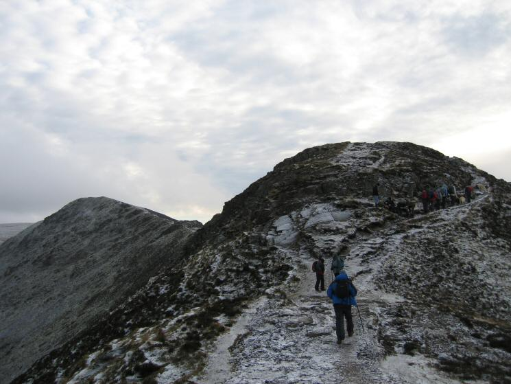 Approaching Ullock Pike's summit