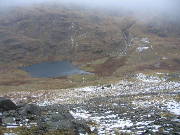Styhead Tarn from the Breast Route