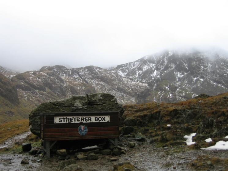 The Stretcher Box at Sty Head