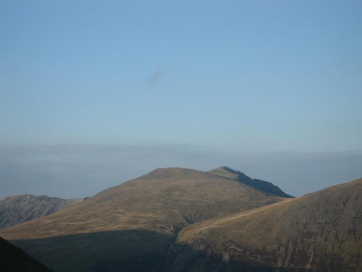 Zooming in on Sand Hill and Hopegill Head