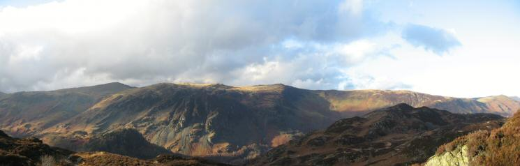 Dale Head, High Spy, Maiden Moor and Catbells
