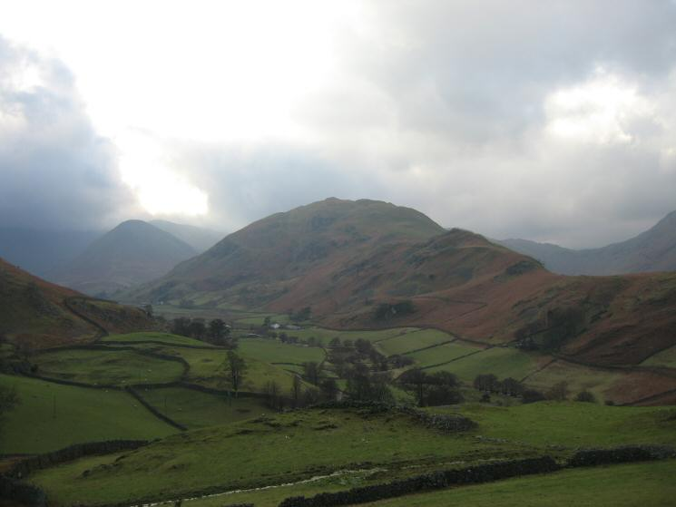 Beda Fell with The Nab on the left