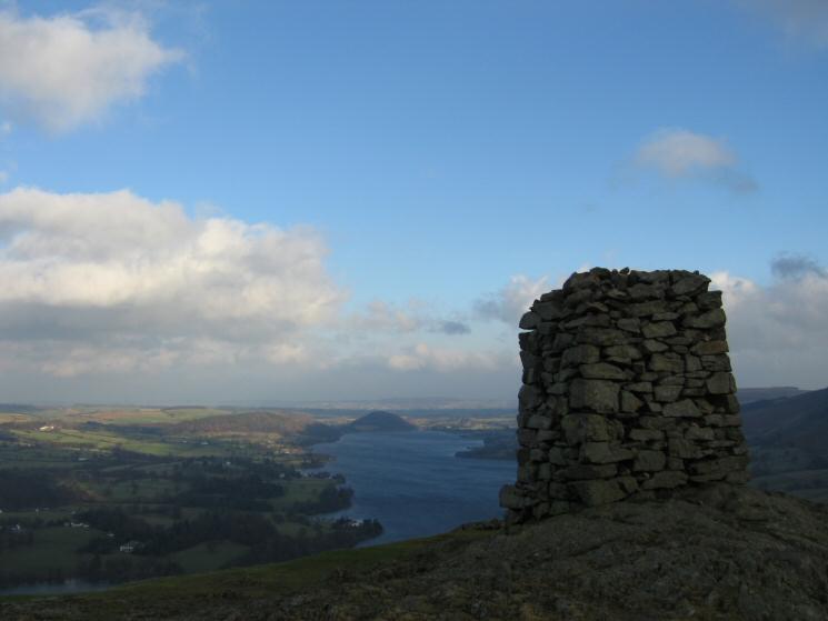 Northern Ullswater from Hallin Fell's summit