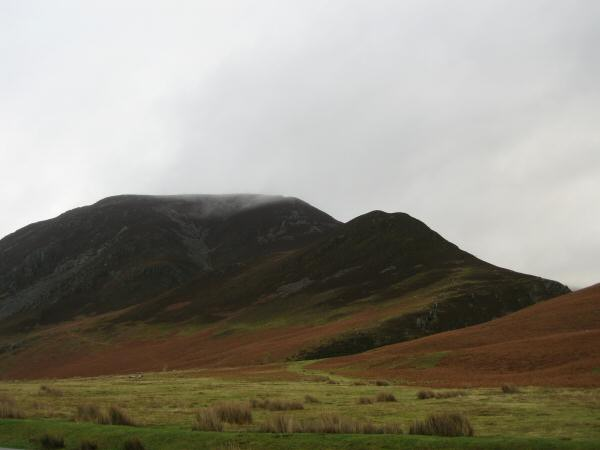 Whiteside and Whin Ben from Lanthwaite Green