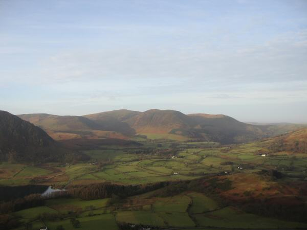 The Loweswater fells