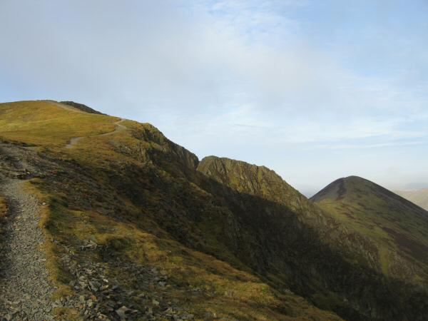 Hobcarton Crag and Ladyside Pike