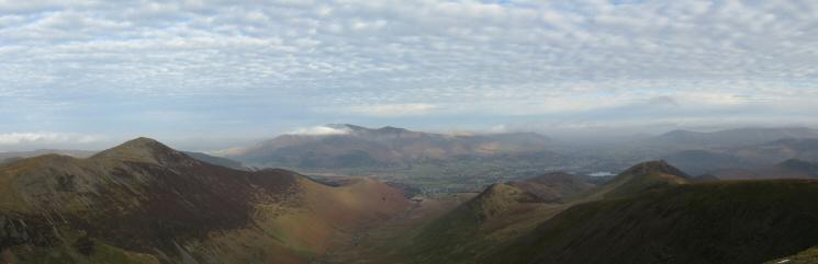 Coledale panorama from Crag Hill's summit