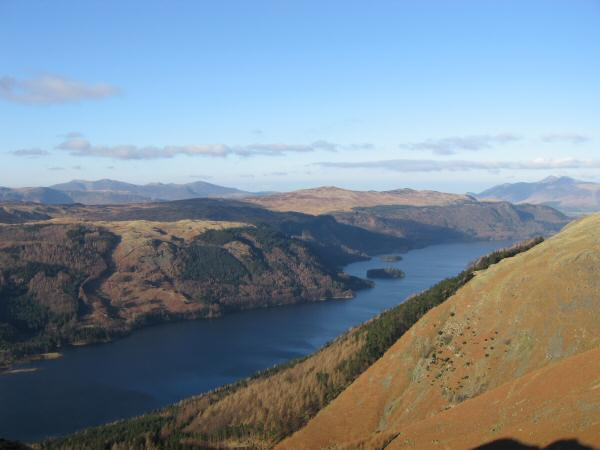 Thirlmere from the descent to Wythburn