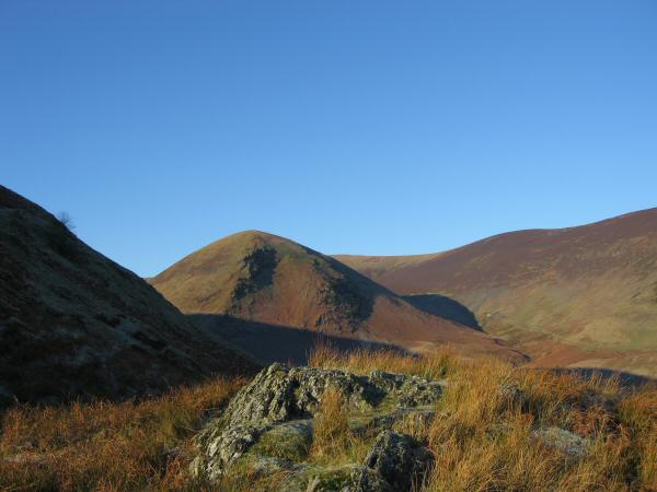 Looking across to The Tongue which leads onto Bowscale Fell