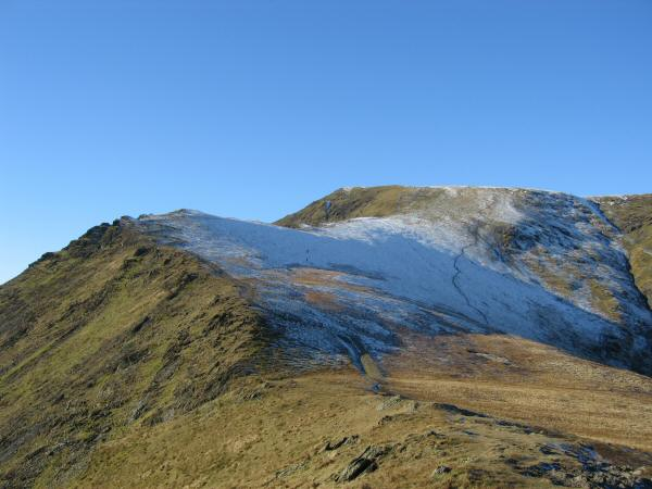 The top part of Scales Fell with Doddick Fell joining from the left