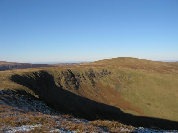 Bowscale Fell from Bannerdale Crags