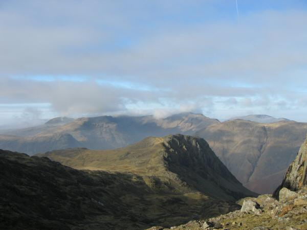 Lingmell from Broad Crag col