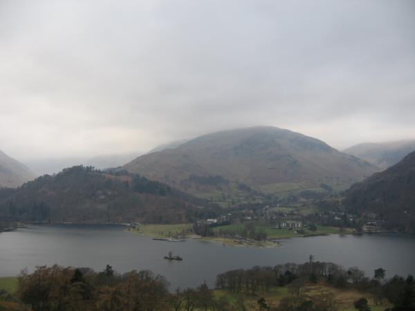 Glenridding, the wooded Keldas and Birkhouse Moor