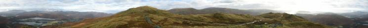 360 Panorama from Nab Scar's summit
