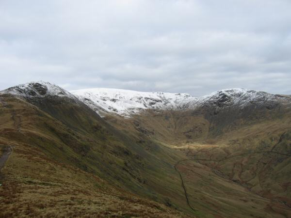 Great Rigg, Fairfield and Hart Crag