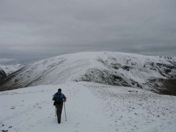 Heading for Fairfield from Great Rigg