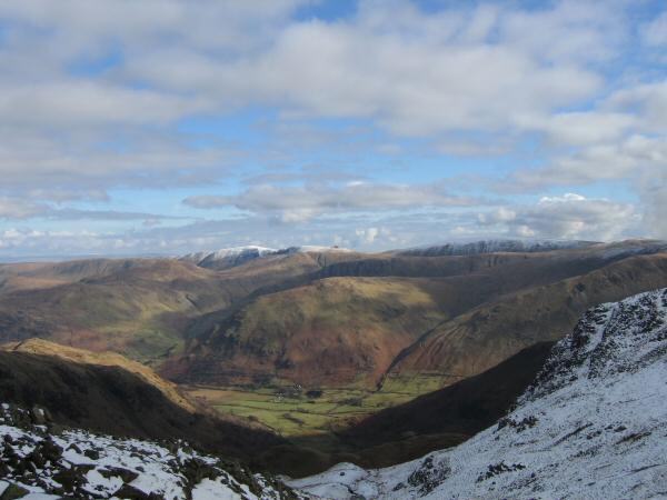 Hartsop Dodd with the High Street ridge beyond