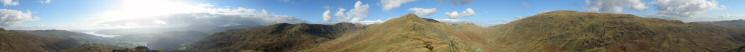 360 Panorama from Low Pike's summit