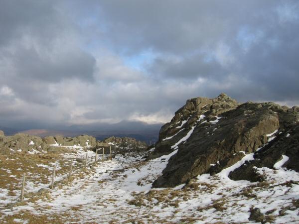 Grey Knotts' summit tor