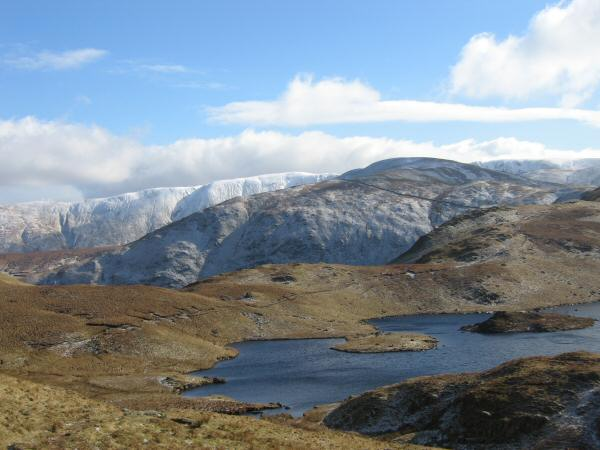 Angle Tarn with Rest Dodd behind
