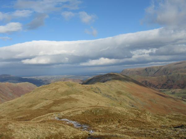 The ridge to Beda Fell