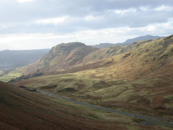 Dunmail Raise and Helm Crag