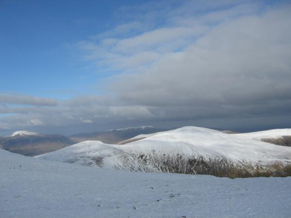 White Side, Raise and the Dodds from Helvellyn