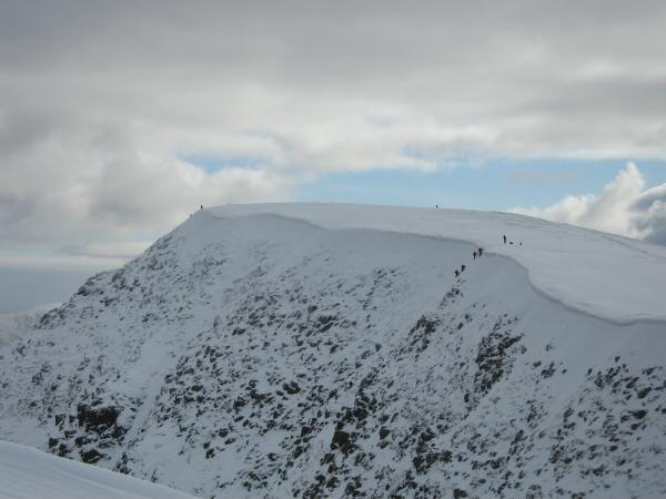 A more direct route onto Helvellyn...