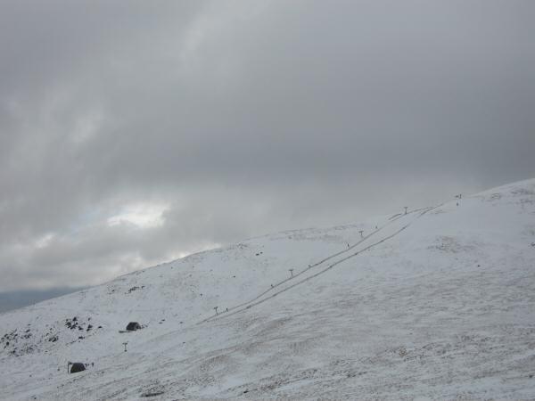The ski tow on Raise