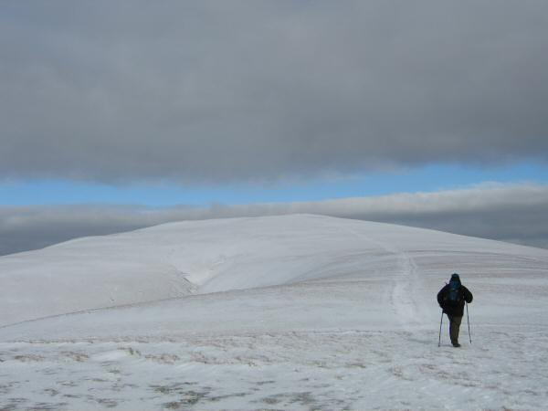 Heading for Great Dodd